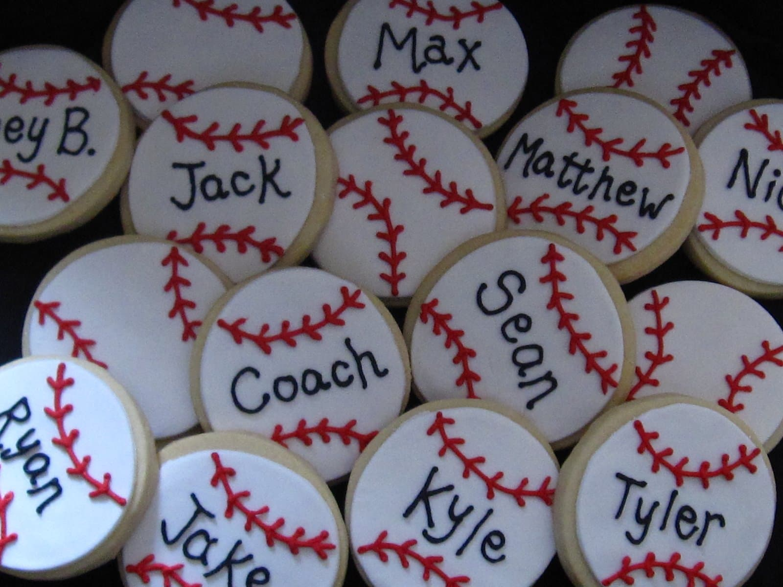 Baseball Cookies Cookies And Cups