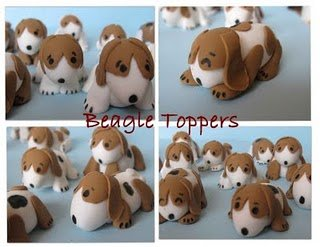 beagle topper collage