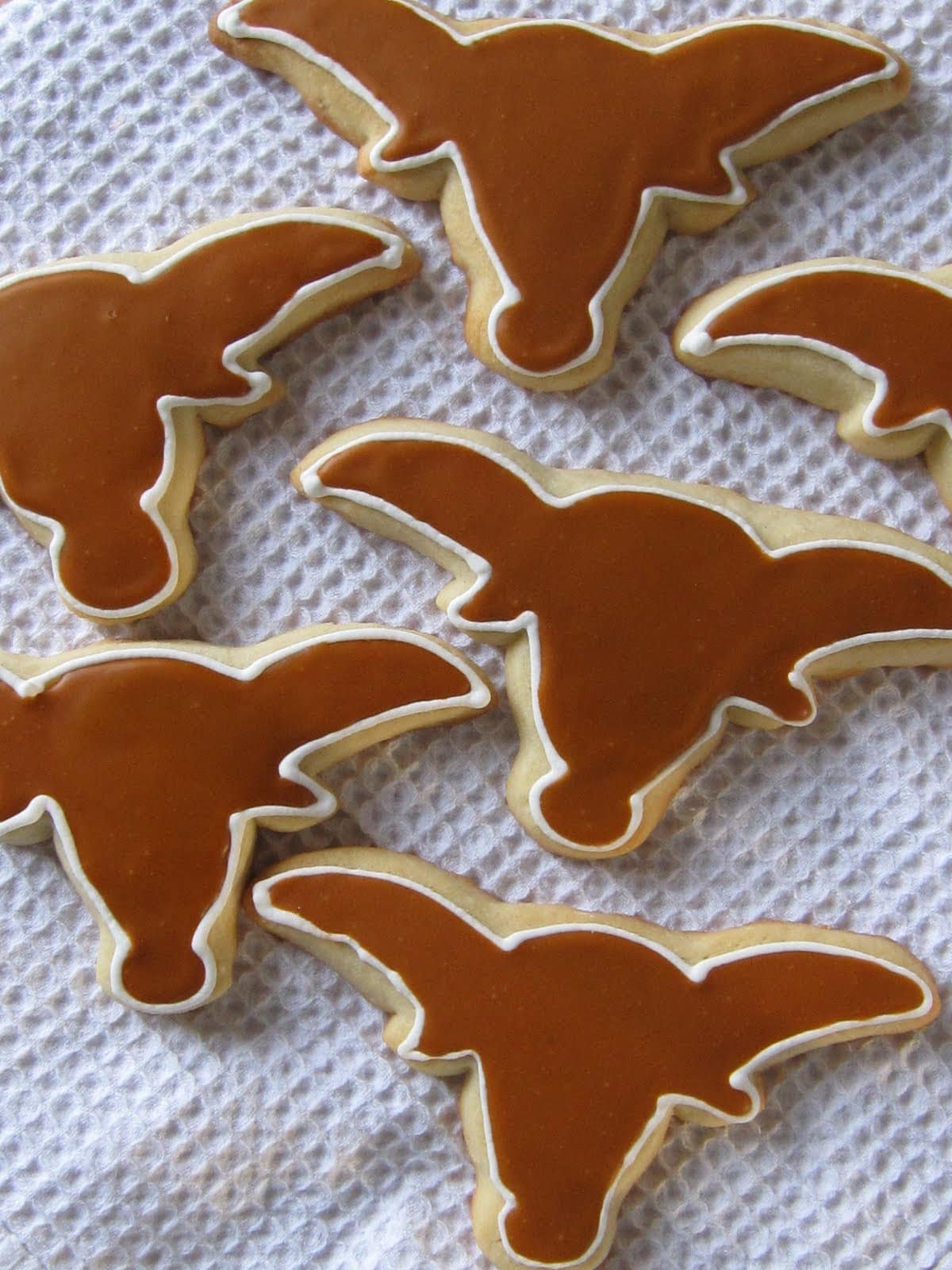 A Longhorn Story   Royal icing woes | Cookies and Cups