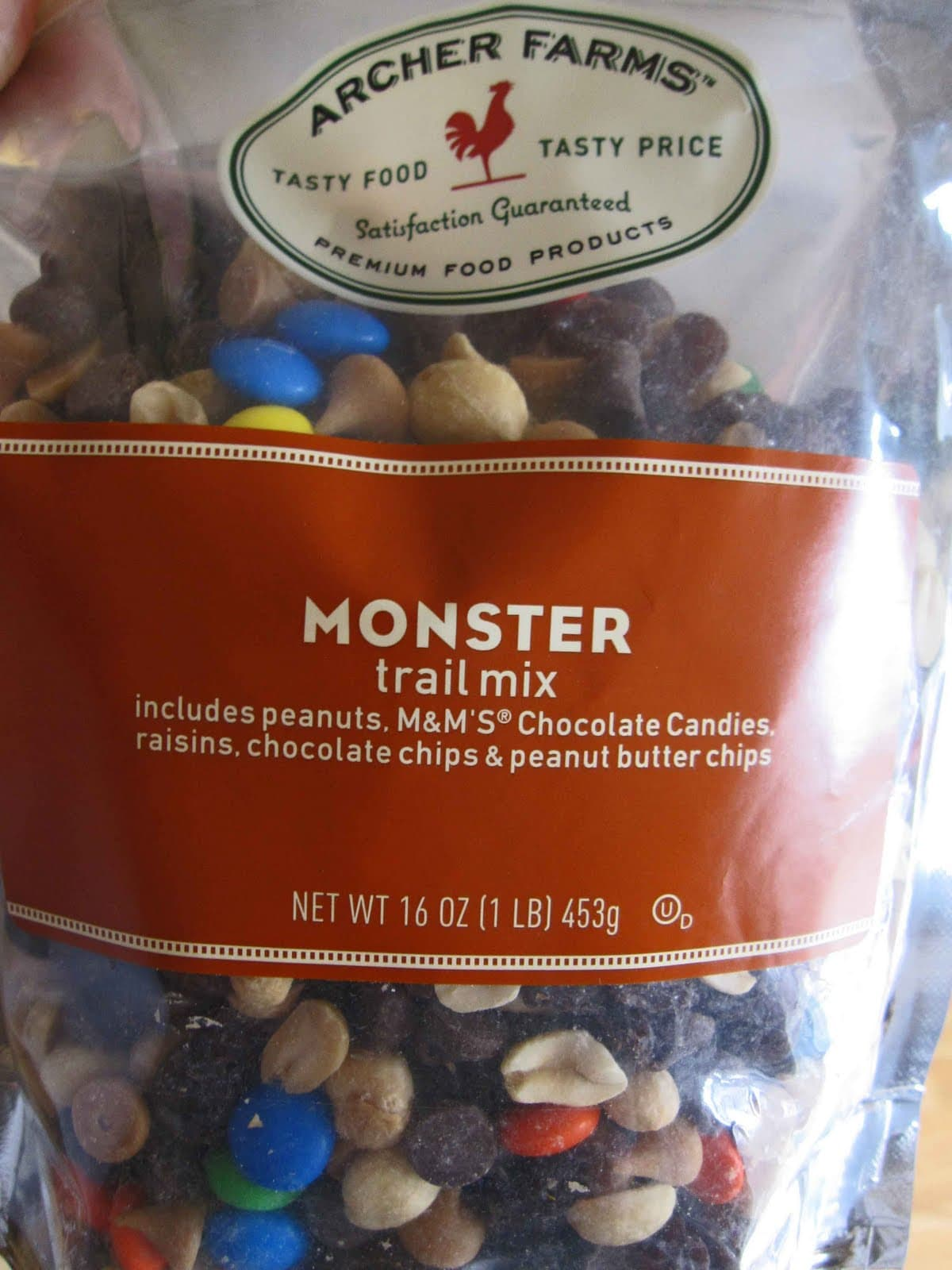 A package of Archer Farms Monster Trail Mix