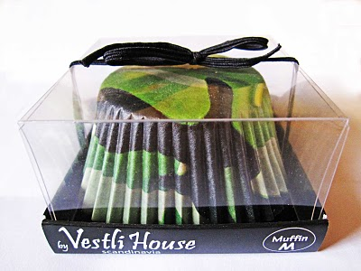 Camo Cupcake wrappers in a package