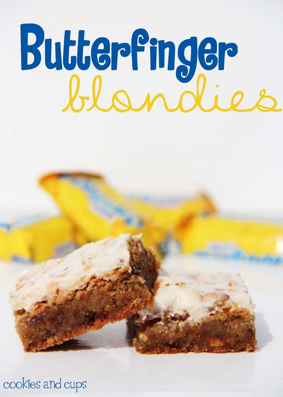 Butterfinger Brownie Cookies Recipe — Dishmaps