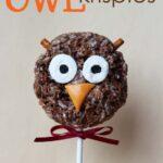 Owl Krispie Treats