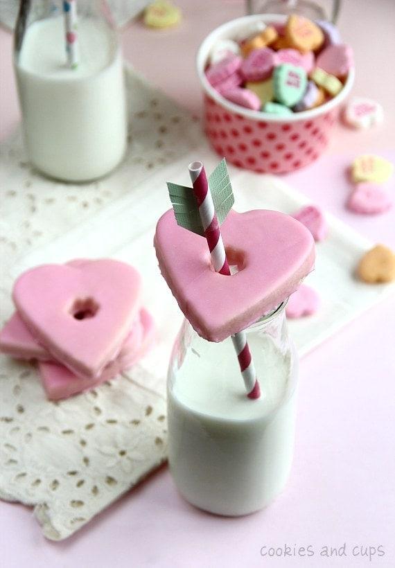 hartjes koekje, leuk voor Valentijnsdag