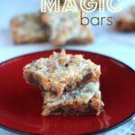 Image of Chocolate Chip Magic Bars