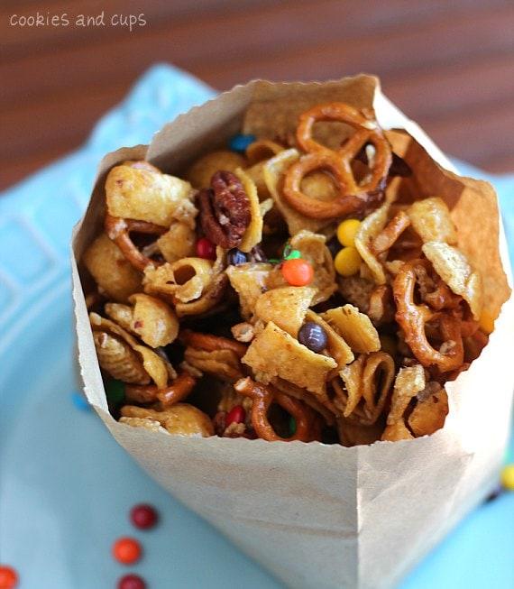 Frito Snack Mix recipe by RecipeGirl.com