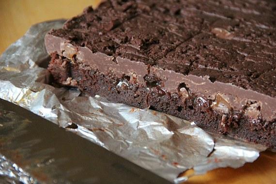 Rolo Fudge Brownies