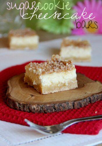 Image of Sugar Cookie Cheesecake Bars