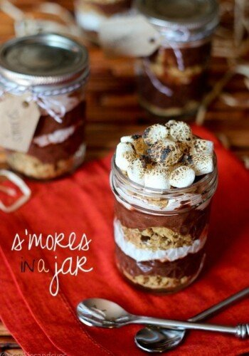 Image of S'mores in a Jar