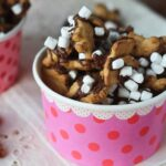 S'mores Snack Mix in a Dish