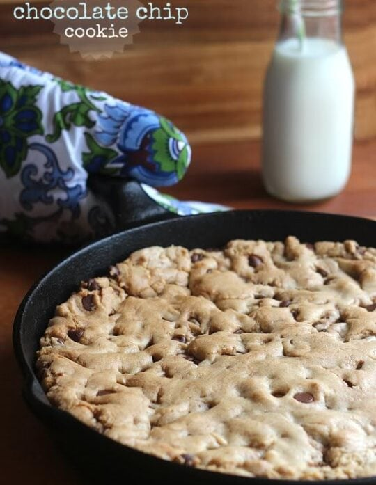 Image of Skillet Chocolate Chip Cookie