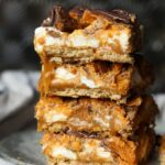 Butterfinger Caramel Bars