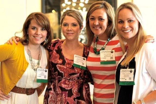 Me and some of my roomies from the BlogHer conference
