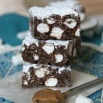 Image of Puppy Chow Krispie Treats, Stacked