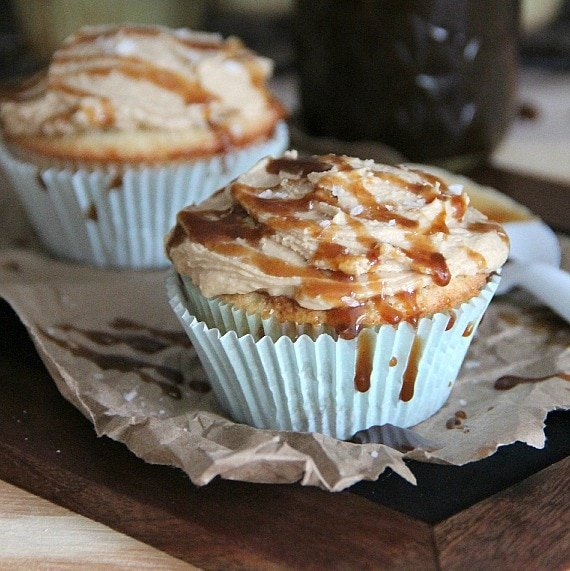 Image of Salted Caramel Cupcakes