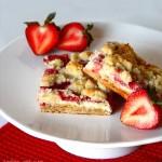 Image of Strawberries and Cream Bars