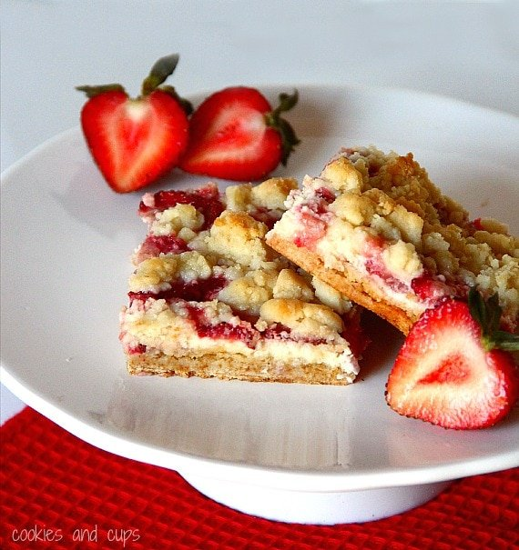 Image of Strawberries and Cream Bars