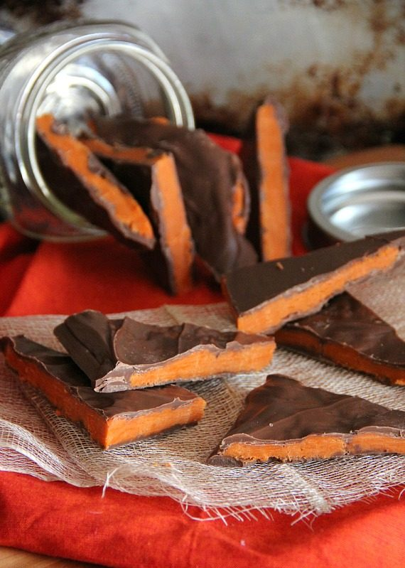 Image of Homemade Butterfinger Bark