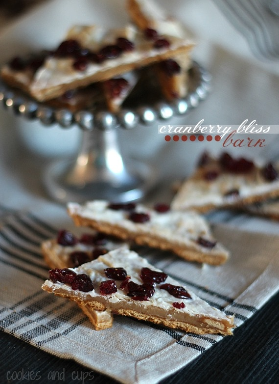 Cranberry Bliss Bark