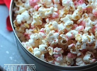 Candy Cane Kiss Kettlecorn