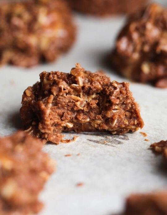 Peanut Butter Cup No Bake Cookies....and they are PHENOMENAL!