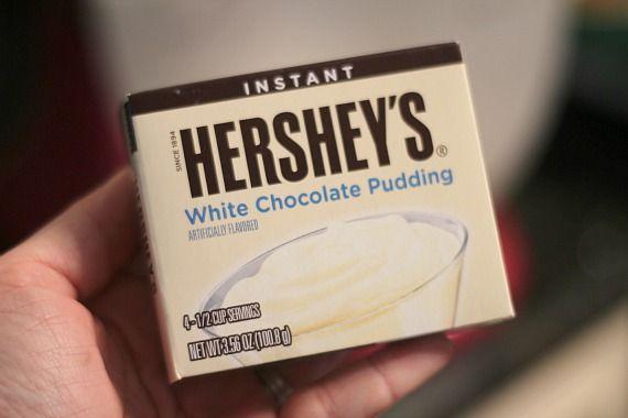 Instant Hershey's White Chocolate Pudding