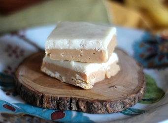 Peanut Butter Banana Fudge