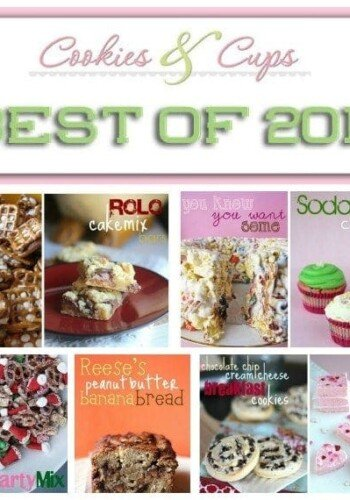 Best of 2012 on Cookies and Cups. Favorite desserts chosen my the readers. #recipes #desserts