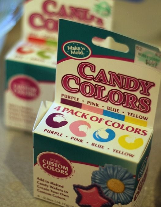 Two boxes of candy colors food coloring