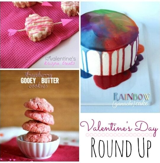 Valentine's Day Round Up   Cookies and Cups