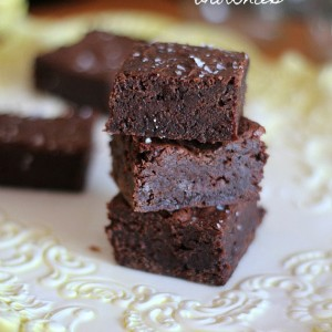 Salty and Sweet Brownies