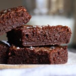 A Stack of Sweet and Salty Brownies
