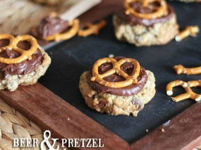 Beer and Pretzel Cookies | Cookies and Cups