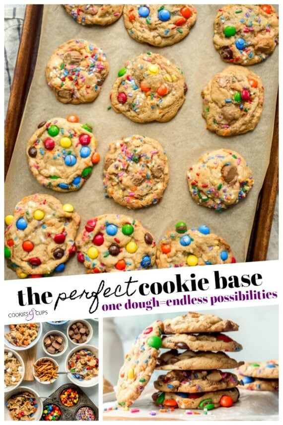 The Perfect Cookie Dough Base Pinterest Image