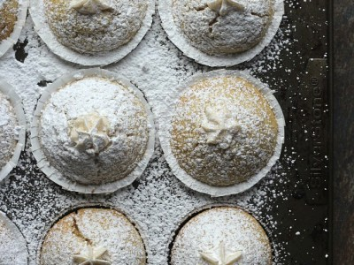 Vanilla Cream Filled Powdered Sugar Muffins   Cookies and Cups