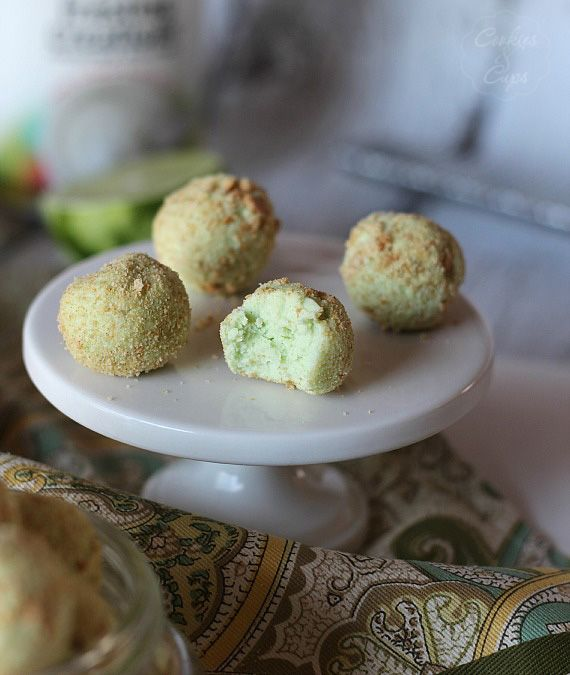 Image of Bite Sized Key Lime Pie Truffles