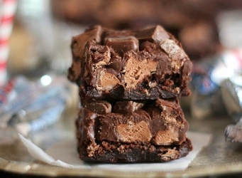 3 Musketeers Fudge Brownies