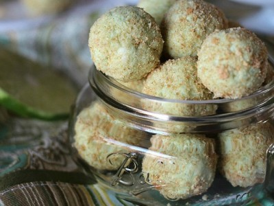 Key Lime Pie Truffles   Cookies and Cups
