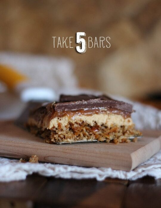 Take 5 Bars | Cookies and Cups