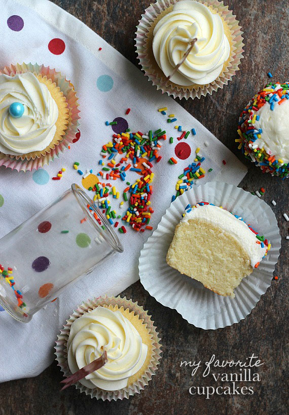 best ever vanilla cupcakes