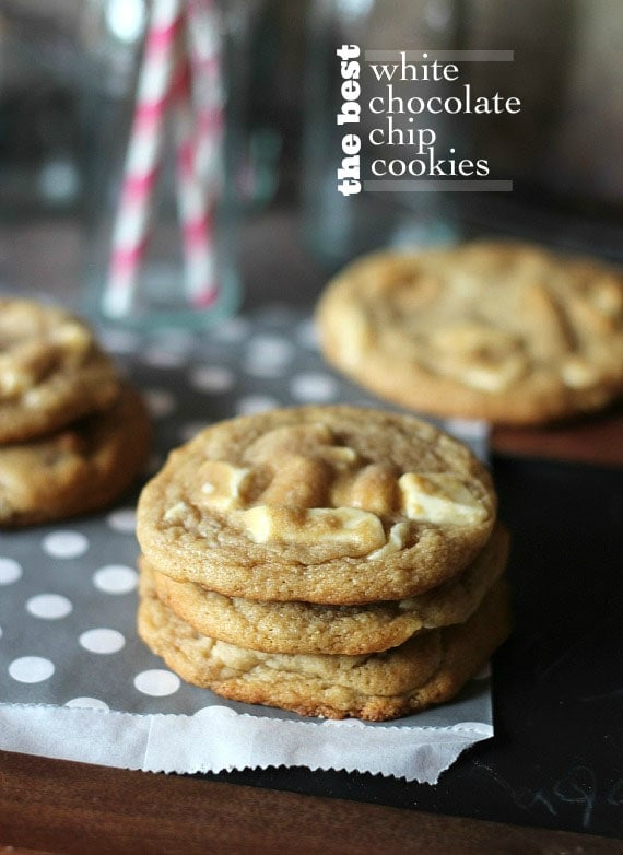 Best White Chocolate Chip Cookies