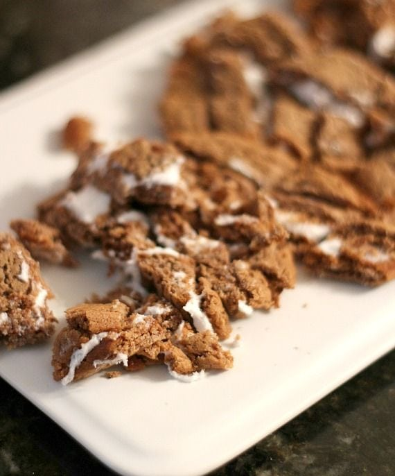Chopped oatmeal cream cookies