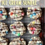 Ice Cream Sundae Cookies | www.cookiesandcups.com