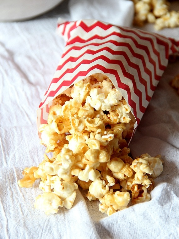 Salted Caramel Popcorn Cookies And Cups