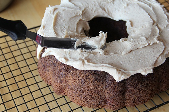 Apple Cake with Browned Butter Frosting