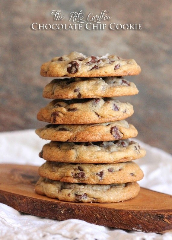 The Ritz Carlton Chocolate Chip Cookie   www.cookiesandcups.com