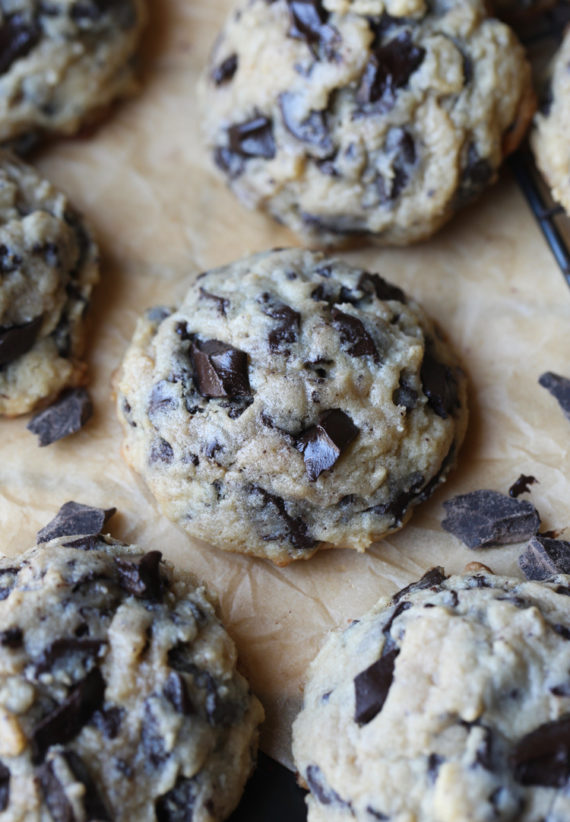 Thick Chocolate Chunk Cookies are the best cookie recipe!
