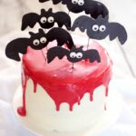 Vampire Bat Cake Recipe for Halloween