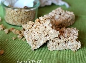 French Toast Krispie Treats | www.cookiesandcups.com