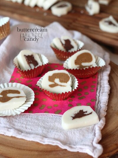 Buttercream Pinwheel Candy | www.cookiesandcups.com